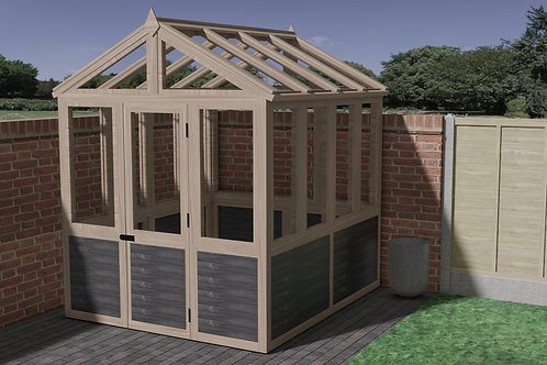 Brilliant Wooden Greenhouse Build Plans Do It Yourself Instructions