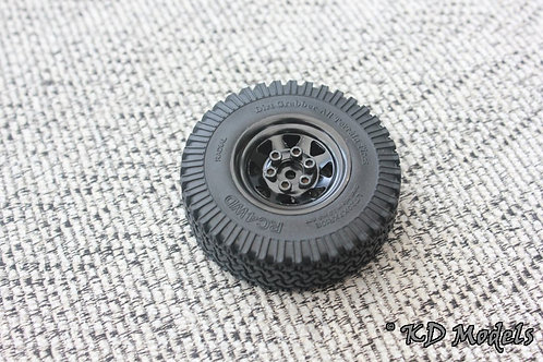 Original Metal Spare Wheel for RC4WD Gelande D90 1:18 Scale