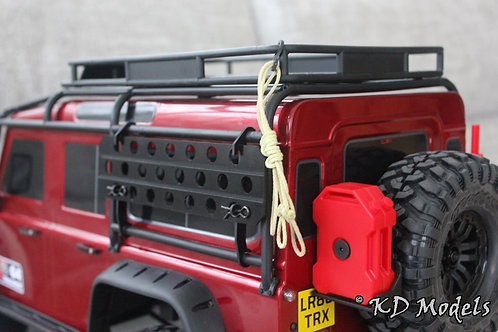 Kevlar Rope and Rope Hook for TRX-4