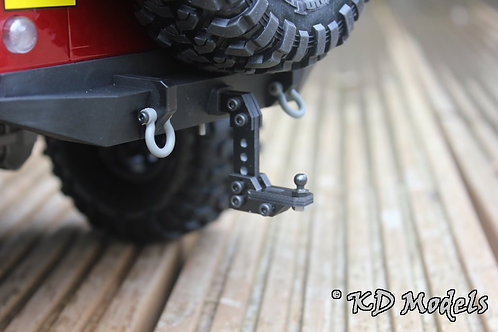 Custom Adjustable height Tow Hitch for TRX-4