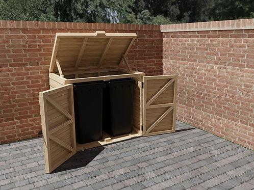 Wooden Wheelie Bin Store Build Plans Do It Yourself Instructions