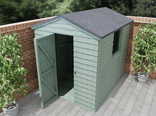 Outdoor Wooden Garden Shed Build Plans Instructions 1.8x2.4m Workshop 6ft x 8ft