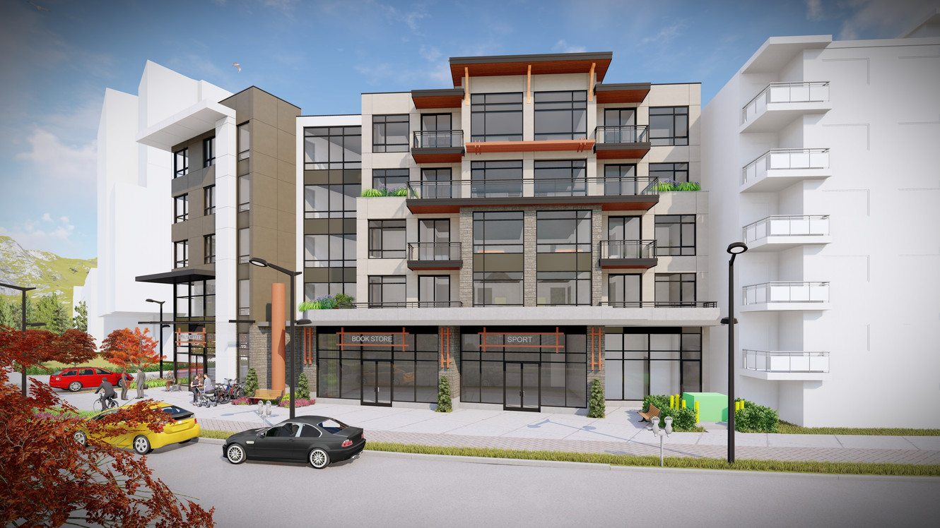 2131 2171 Old Dollarton Road Mixed Use Building