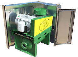 Pathfinder Systems Dynabase blower package with sound enclosure