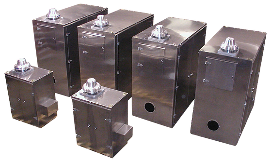 Aluminum sound enclosures with fans