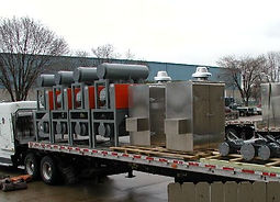 Sound Enclosurs and Blower Packages Shipping