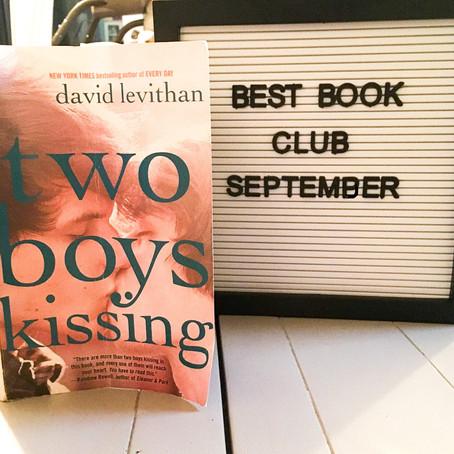 Two Boys Kissing by David Levithan - Book Club Review