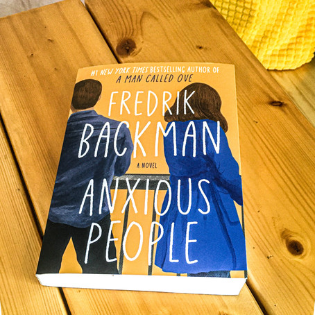 Anxious People by Fredrik Backman - Book Review - No Spoilers