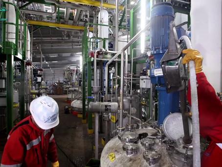 Comment maintenir la propreté d'une usine?