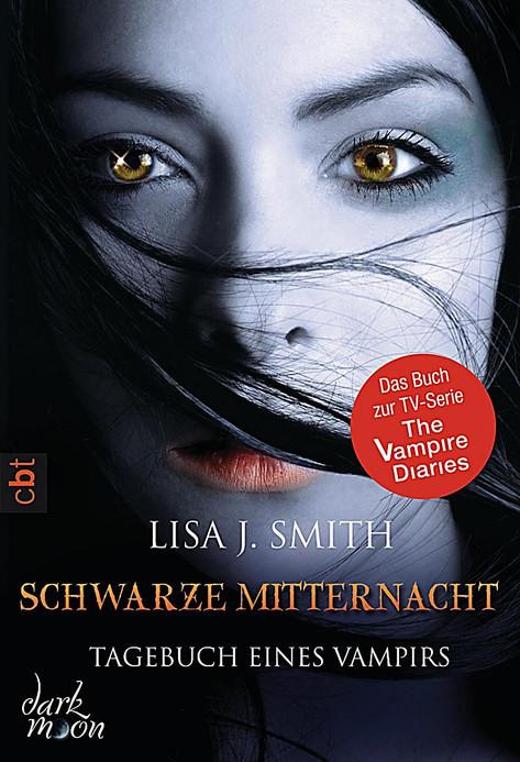 Book Cover (German) Schwarze Mitternacht (Author: Lisa J. Smith)