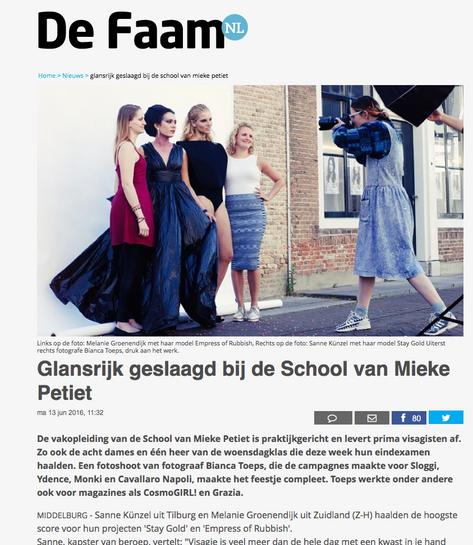 Publication Paper ''De Faam''