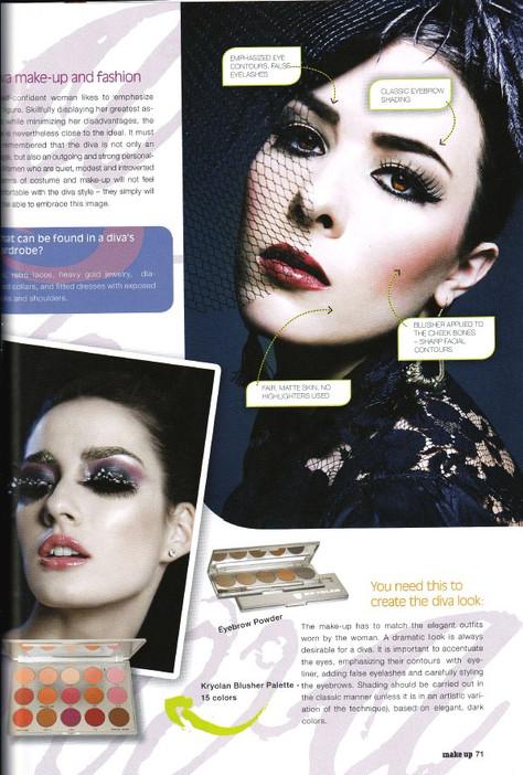Kryolan Make-up International Magazine