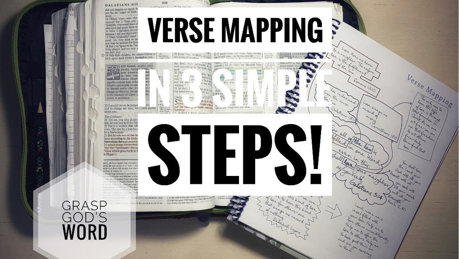 Verse Mapping in 3 Simple Steps!