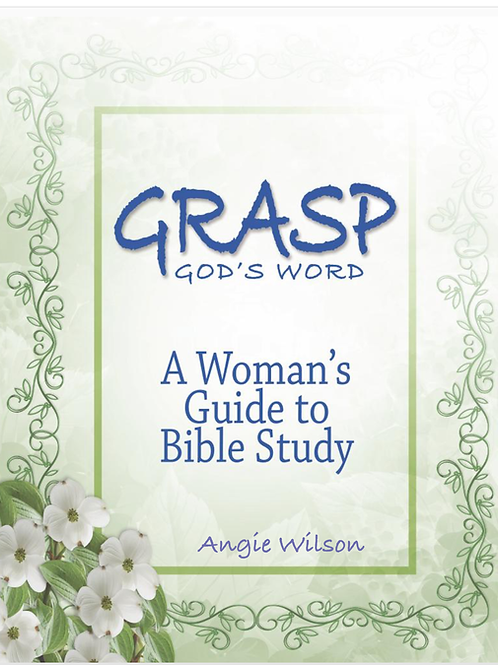 GRASP Bible Study SPECIAL OFFER!