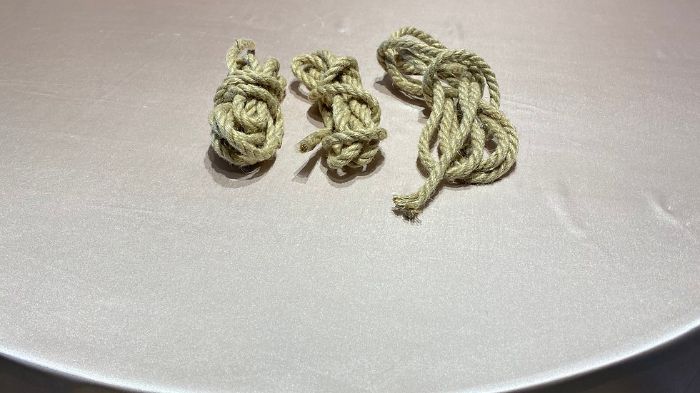 3 Bunches of Twine