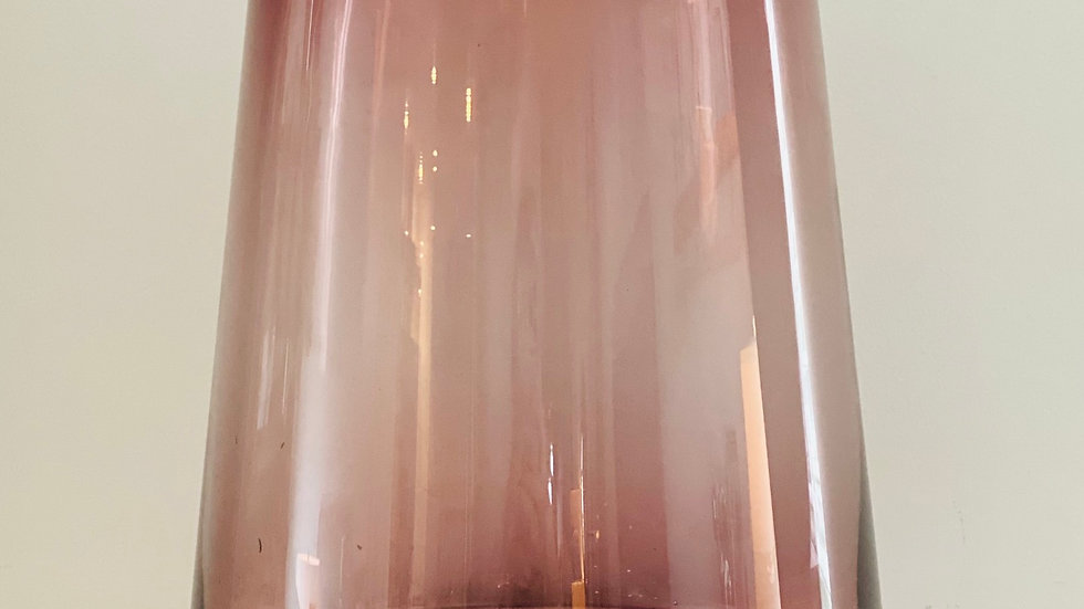 3 Maroon and Gold Vases-Large