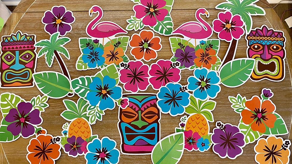 Luau Wall Decorations