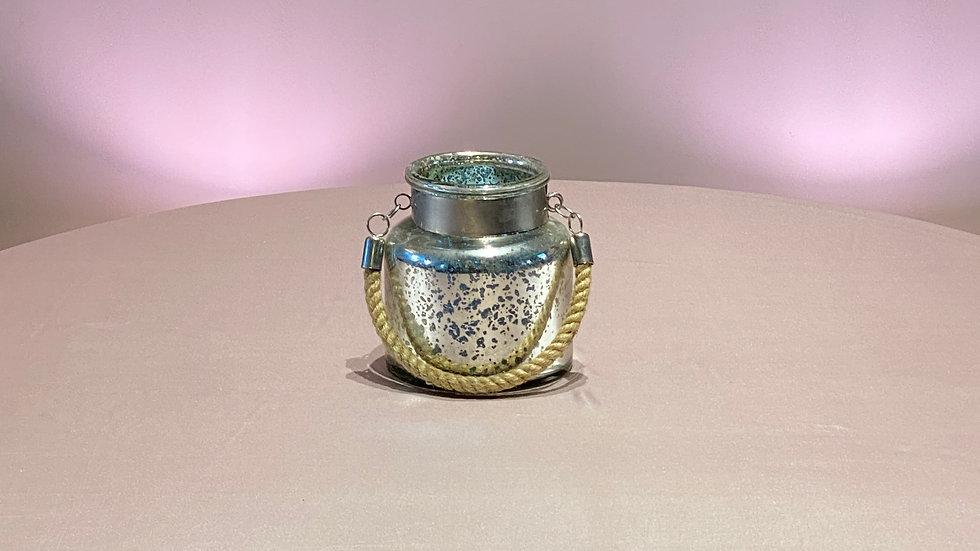 Mercury Glass Bucket