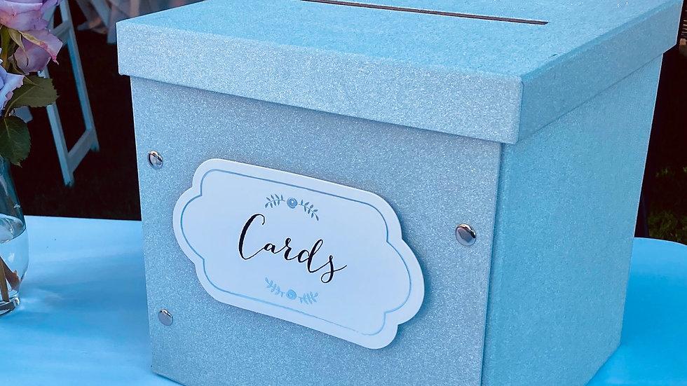 Silver Card Box