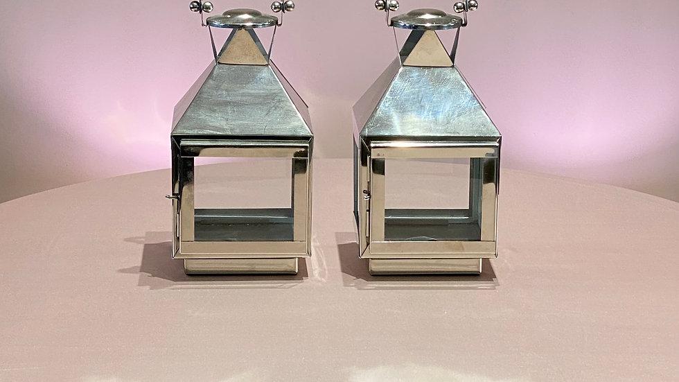 2 Silver Lanterns