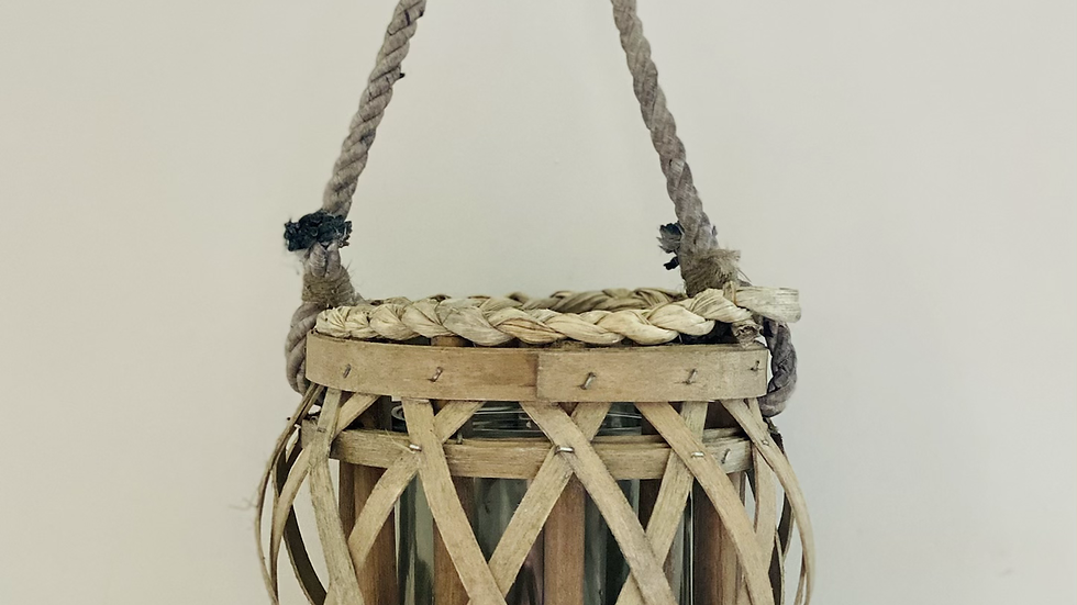 Woven Candle Holder
