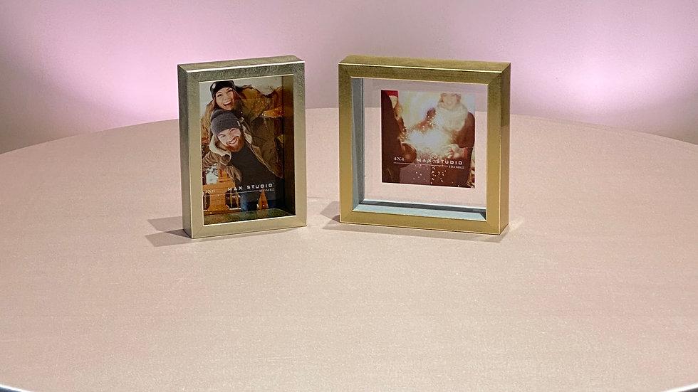 2 Gold Frames