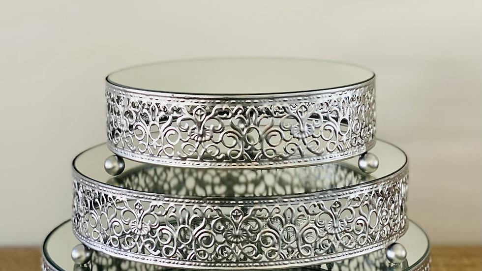 Silver Dessert Set