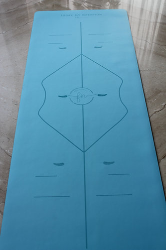The Blue Intention - Rubber Mat