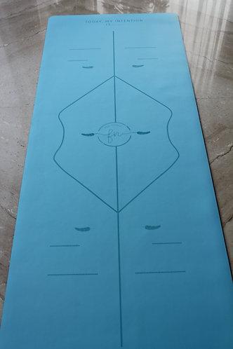 The Blue Intention - Rubber Mat