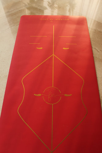 The Red Intention - Rubber Mat (Gold Edition)