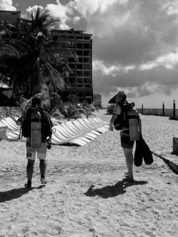 Buccanos beach club Cozumel
