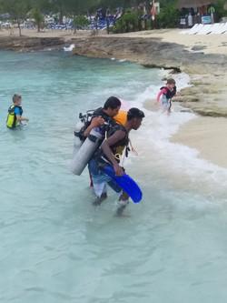 Discover scuba diving program