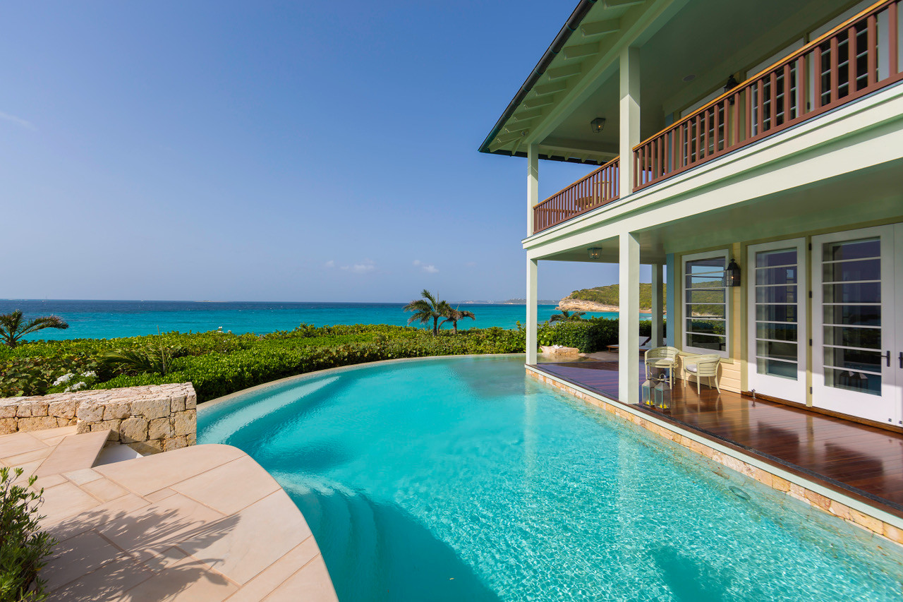 Santosha Villa Anguilla Pool Grand Villa