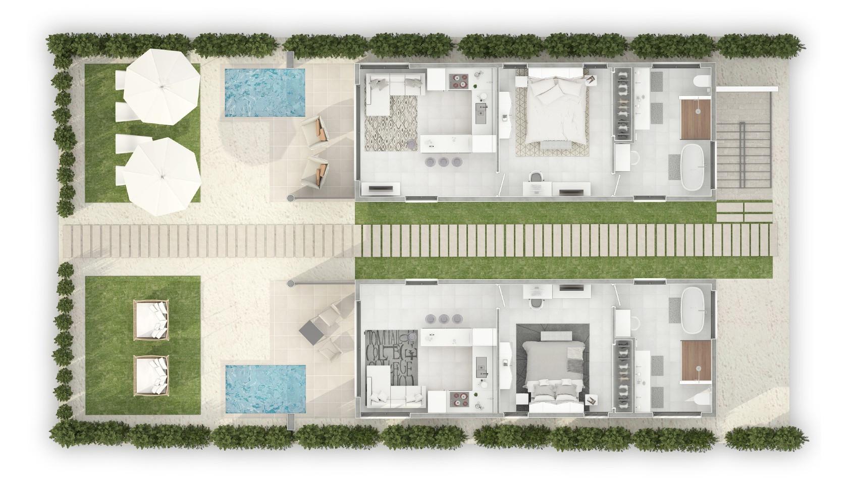 1 Bedrrom w:sofa floor plan.jpg