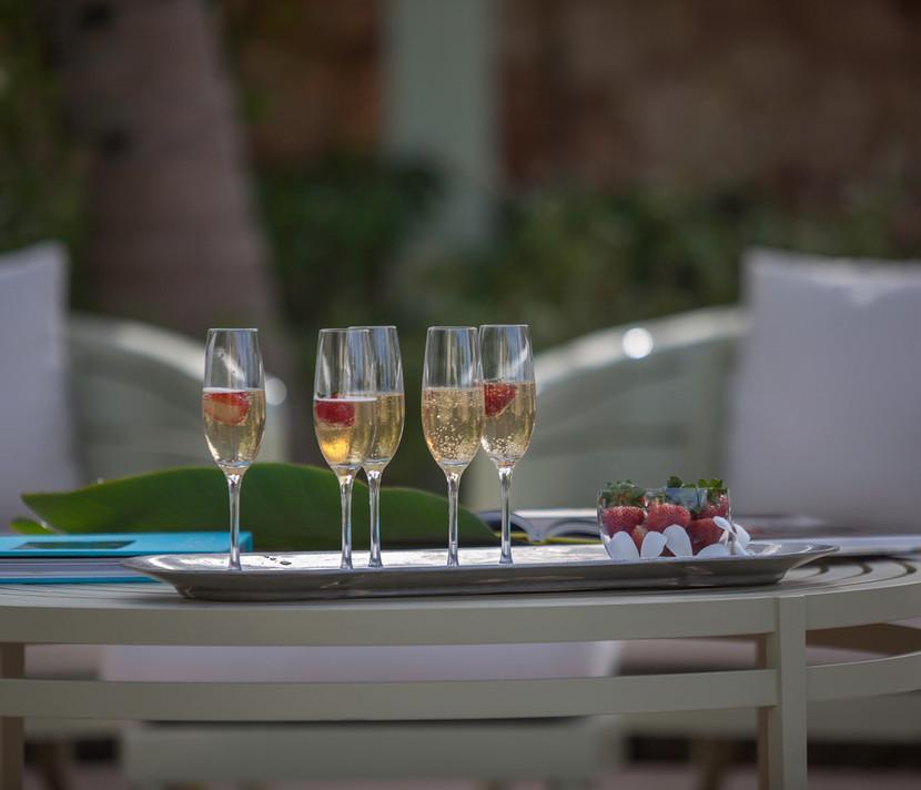 Santosha Villa Anguilla Champagne td hr.
