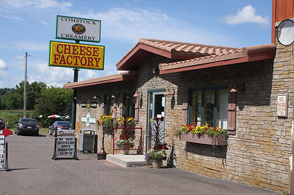 Cheese factory in Comstock