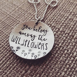 jewelry wildflowers