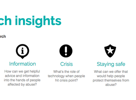 What are the priorities, needs and opportunities for digital in the domestic abuse sector?