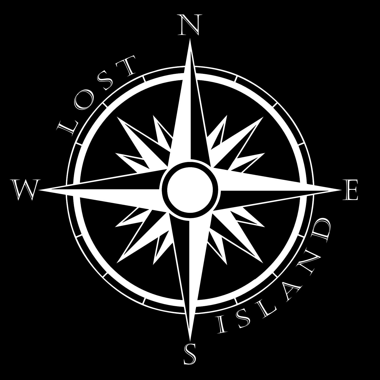 compass crest black