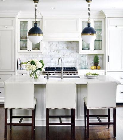 White kitchen, Pro Install Services
