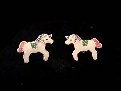 Unicorn studs
