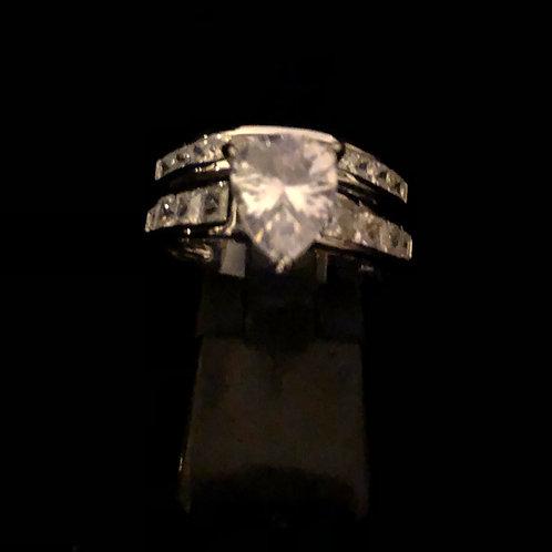 Double stone set rings
