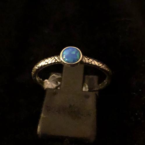 Stone set ring