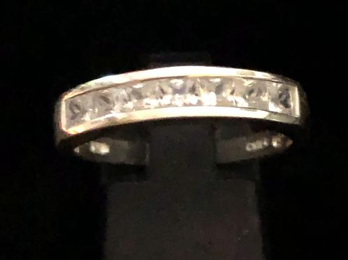 Stone set eternity style ring
