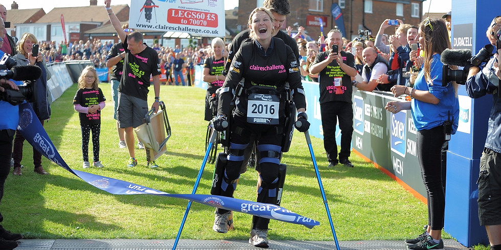 Dinner: An Evening with Claire Lomas