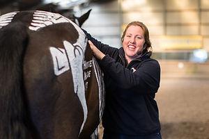 Gillian Higgins, equine, anatomist, therapist, coach rider