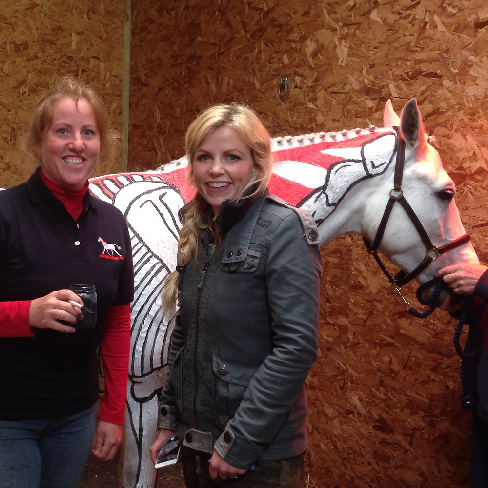 Gillian Higgins Horses Inside Out Countryfile with Ellie Harrison