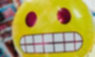 Excited Emoji Balloon