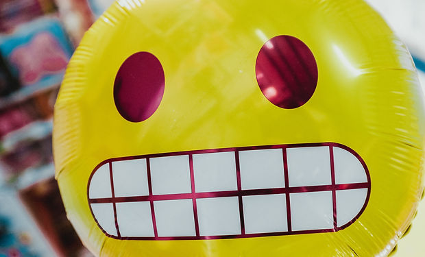 Excited Emoji Balloon