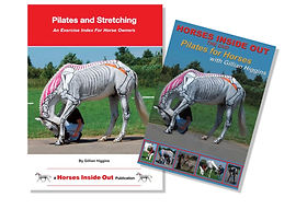Pilates and stretching for horses, an exercise index for horse owners and riders, book and online video